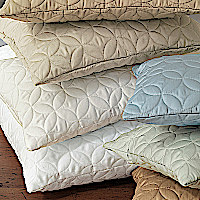 Nancy Koltes Savoy Bedding is available in eight colors.