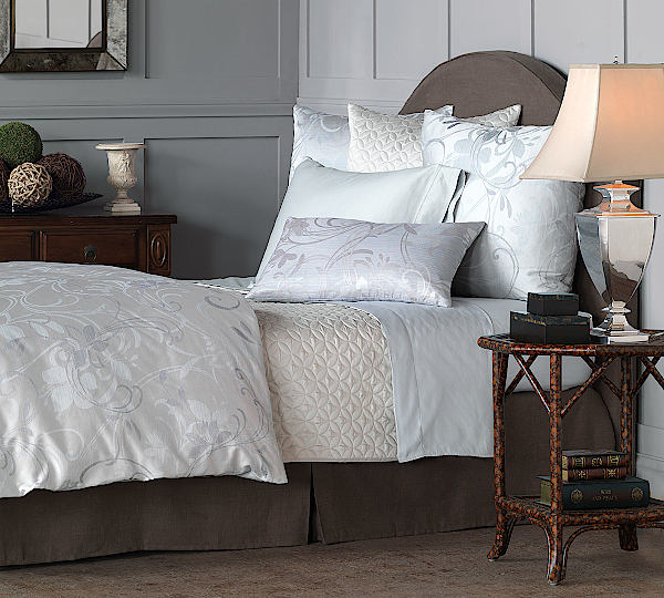Nancy Koltes Bedding Sonata Duvet & Shams