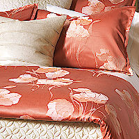 Nancy Koltes Bedding St. Germain Duvet and Sham