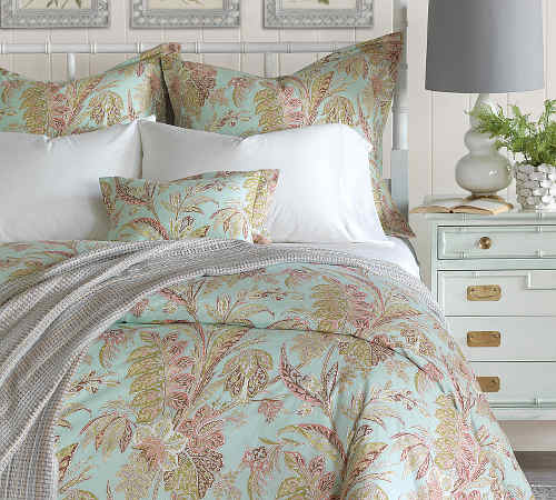 Nancy Koltes Bedding Toulouse Duvet Cover