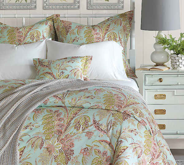 Nancy Koltes Bedding Toulouse Duvet & Shams