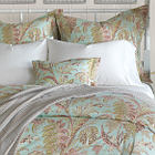 Nancy Koltes Toulouse Bedding is available in two colors