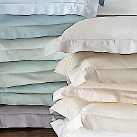 Nancy Koltes Fine Italian Linens - Vanity bedding is available as a duvet, shams, bed sheets.