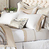 Nancy Koltes Versailles Bedding - A sateen reinvented with the ultimate French flair.