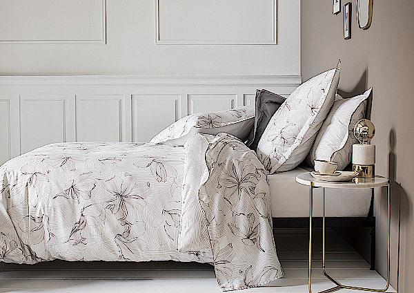 Nina Ricci Maison Ondee Printed Sateen Bedding