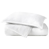 Peacock Alley Channing Stripe Percale Duvet & Sham