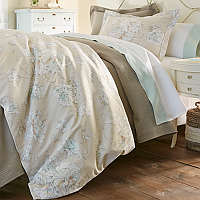 Peacock Alley Flora Duvet & Shams & Decorative Pillows
