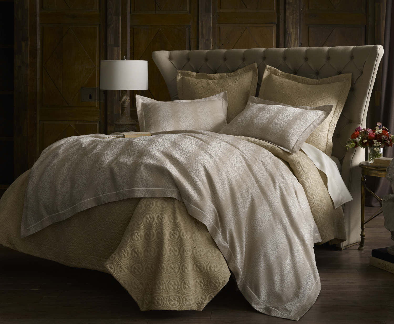 Uuu Peacock Alley Leopold Duvet And Shams And Decorative