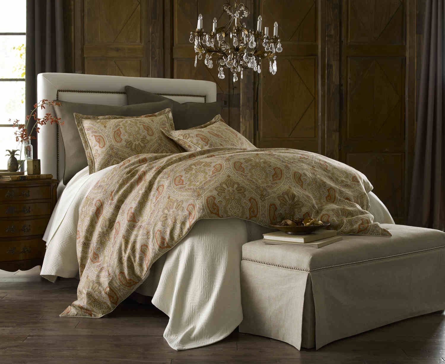 Discontinued Peacock Alley Marseille Duvet And Sham
