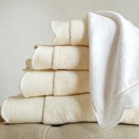 Peacock Alley Overture Bath Towels - 600-gram solid velour towel.