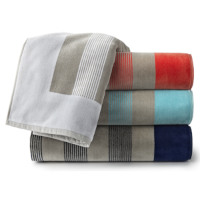 Peacock Alley Soleil Stripe Beach Towel
