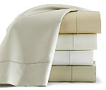 Peacock Alley Soprano Fitted Sheet - White