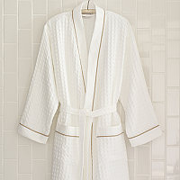 Peacock Alley best-selling, 100% cotton waffle robe.