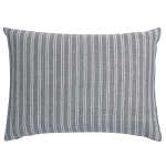 Portico Decorative Pillow Linen Stripe Oblong