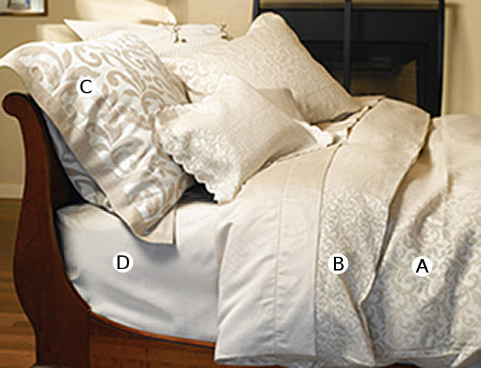 The Purists Jasmine Bedding Collection