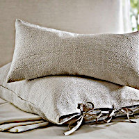 The livability of cotton with the purity of linen.