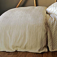 Purists Jazz Bedding is 65% Egyptian Cotton / 35% Silk.