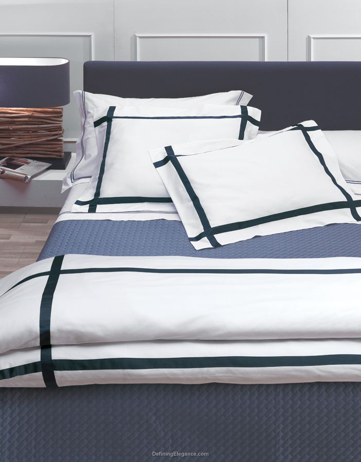 RB Casa Lucca Bedding with Sateen Stripe