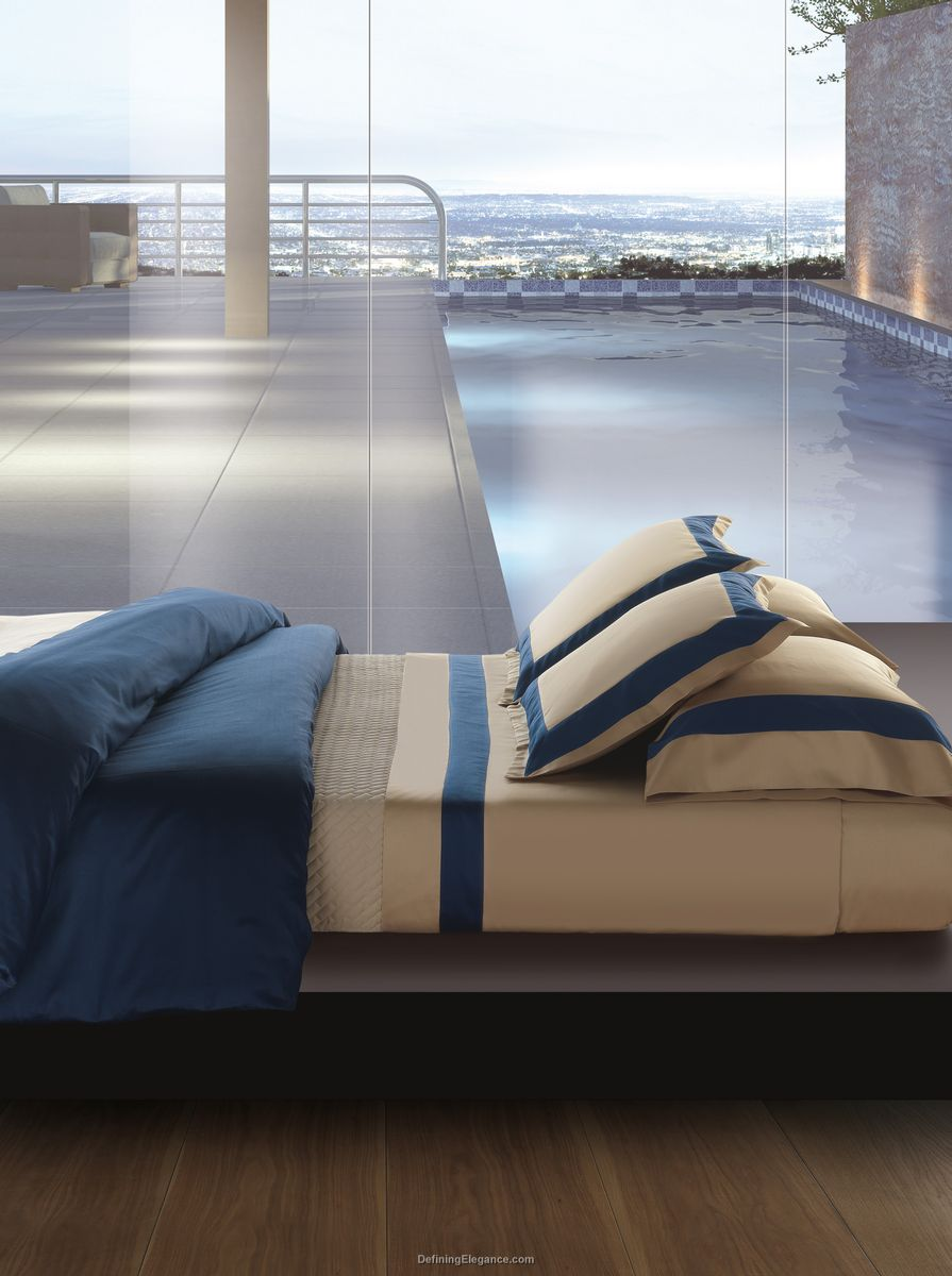 RB Casa Murano - Solid Sateen with Border Bedding