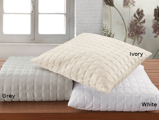 RB Casa Quadro Quilted Sateen Bedding