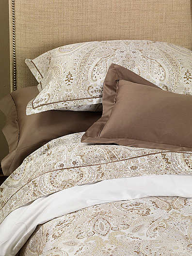 Errebicasa Sorrento with Pleat Printed Sateen Bedding