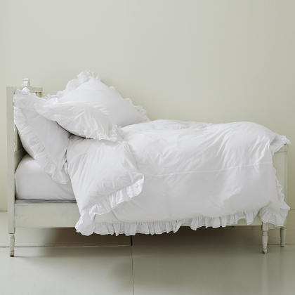 Rachel Ashwell Liliput Ruffled Duvet Cover