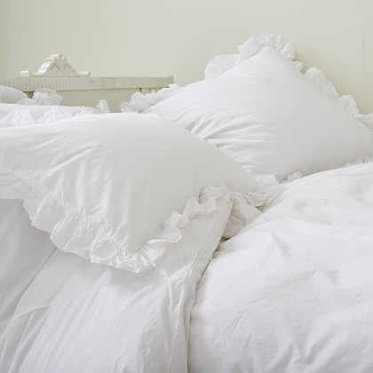 Rachel Ashwell Liliput Ruffled Pillowcases