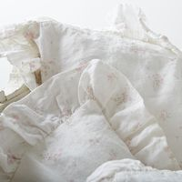 Tap into vintage-inspired elegance with Rachel Ashwell Rosabelle bedding.