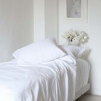 Soft, silky, and simply heavenly, the Rachel Ashwell Sateen sheeting makes every night a dream.
