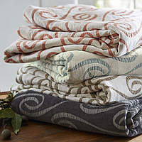 This SDH bedding fabric is woven with a beautiful swirl design.