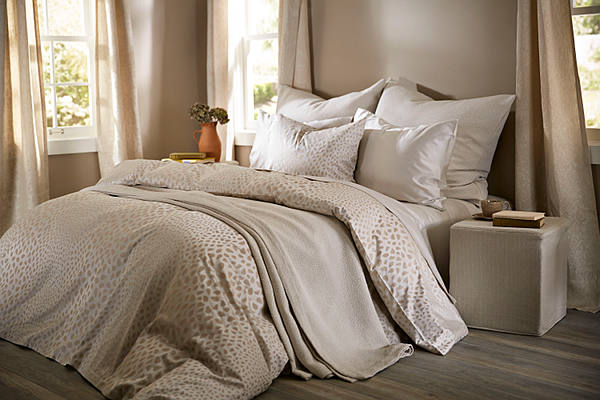 SDH Bali Bedding - shown in fawn color