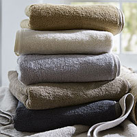 SDH prewashed bath towels and robes combine the luxurious feel of cotton with the added strength of linen.