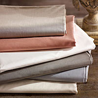SDH's Capri Percale sheeting is a 465 thread count 100% Egyptian cotton.