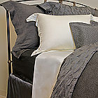SDH Ella Bedding - Two color yard dyed sateen.