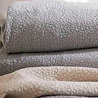 A beautiful matelasse intricately woven will add beauty to your surroundings.