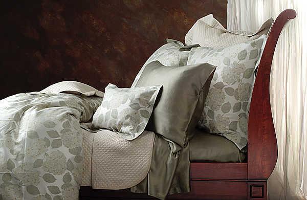 SDH Luxury Fine Linens Hydrangea II Bedding - Bedding (Side View)