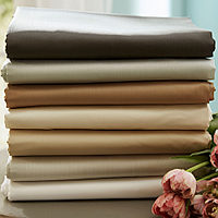 This exquisite, all-natural SDH bedding line is brushed with color.