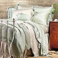 This lustrous, long lasting fabric reflects light and drapes beautifully.