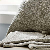 SDH Bedding Livana - 60% Egyptian Cotton/40% Wool duvet, shams, and decorative pillows are woven in Italy.