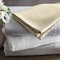 This naturally elegant lightweight linen makes a lasting statement by combining modern and traditional looks.