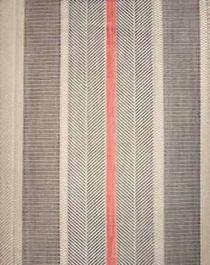 Svad Dondi Highway Bedding fabric closeup in Orange color.