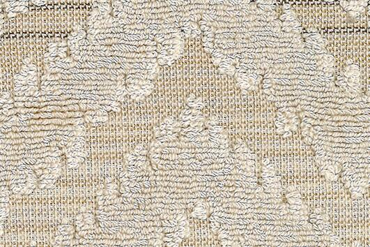 Svad Dondi India Bath Towels fabric closeup in Sand color.