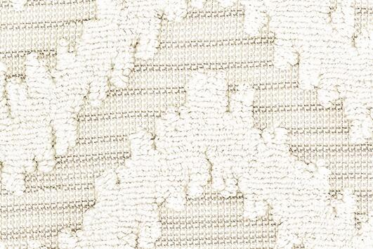 Svad Dondi India Bath Towels fabric closeup in Ivory color.