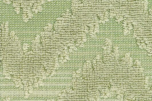 Svad Dondi India Bath Towels fabric closeup in Lime color.