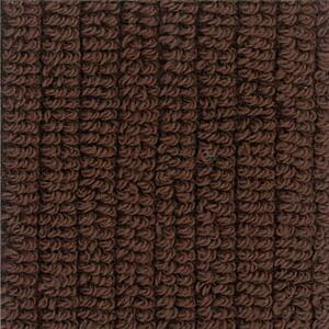 Svad Dondi Skipper Bath fabric closeup in Mahogany color.