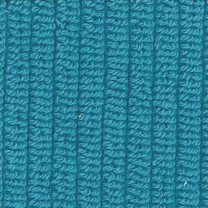 Svad Dondi Skipper Bath fabric closeup in Turquoise color.