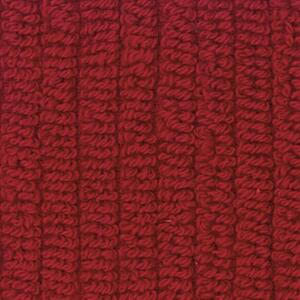 Svad Dondi Skipper Bath fabric closeup in Red color.