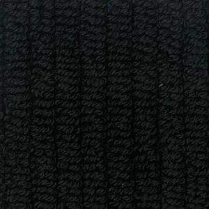 Svad Dondi Skipper Bath fabric closeup in Black color.