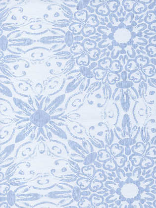 Signoria Firenze Azulejo 300 TC Jacquard Bedding Fabric - Pale Blue Color