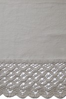 Signoria Firenze Camilla Lace Duvet & Sheeting - Silvermoon Color